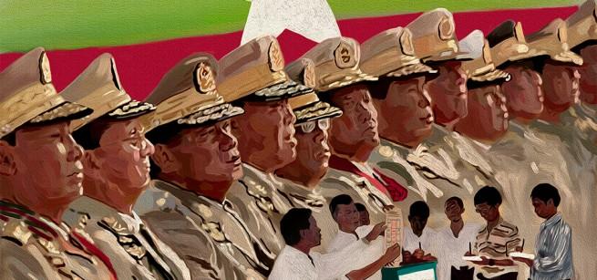 ความยุติธรรม การเลือกตั้ง ภายใต้เงาทหาร (พม่า)